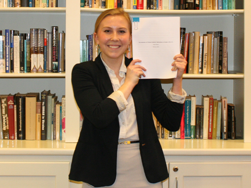 Croft Student with Thesis