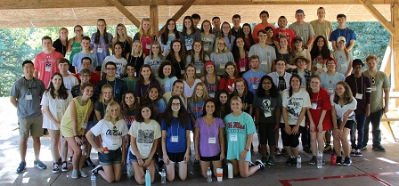 The 2017 Incoming Student Retreat at Camp Hopewell